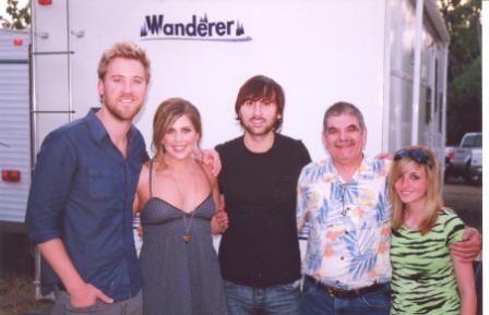 Lady Antebellum with Ashley and Tom