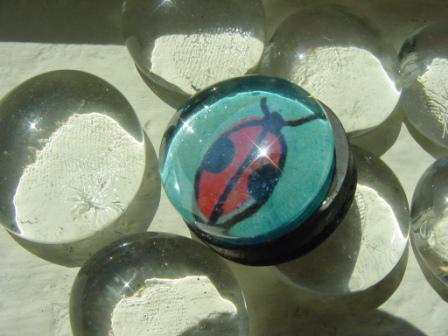 Glass magnet - Item #M0008