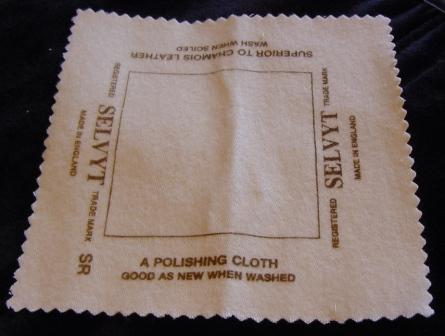 Selvyt<sup>tm</sup> Jewlry Polishing Cloth Item #Msc001