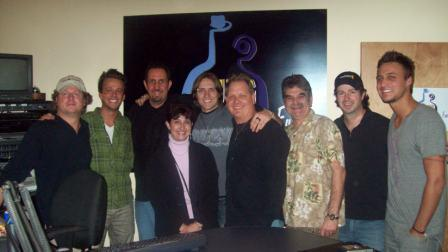 Love & Theft at K-JUG studio with Tom and Lori with Adam Jeffries, Dave Daniels and Dave Collins!