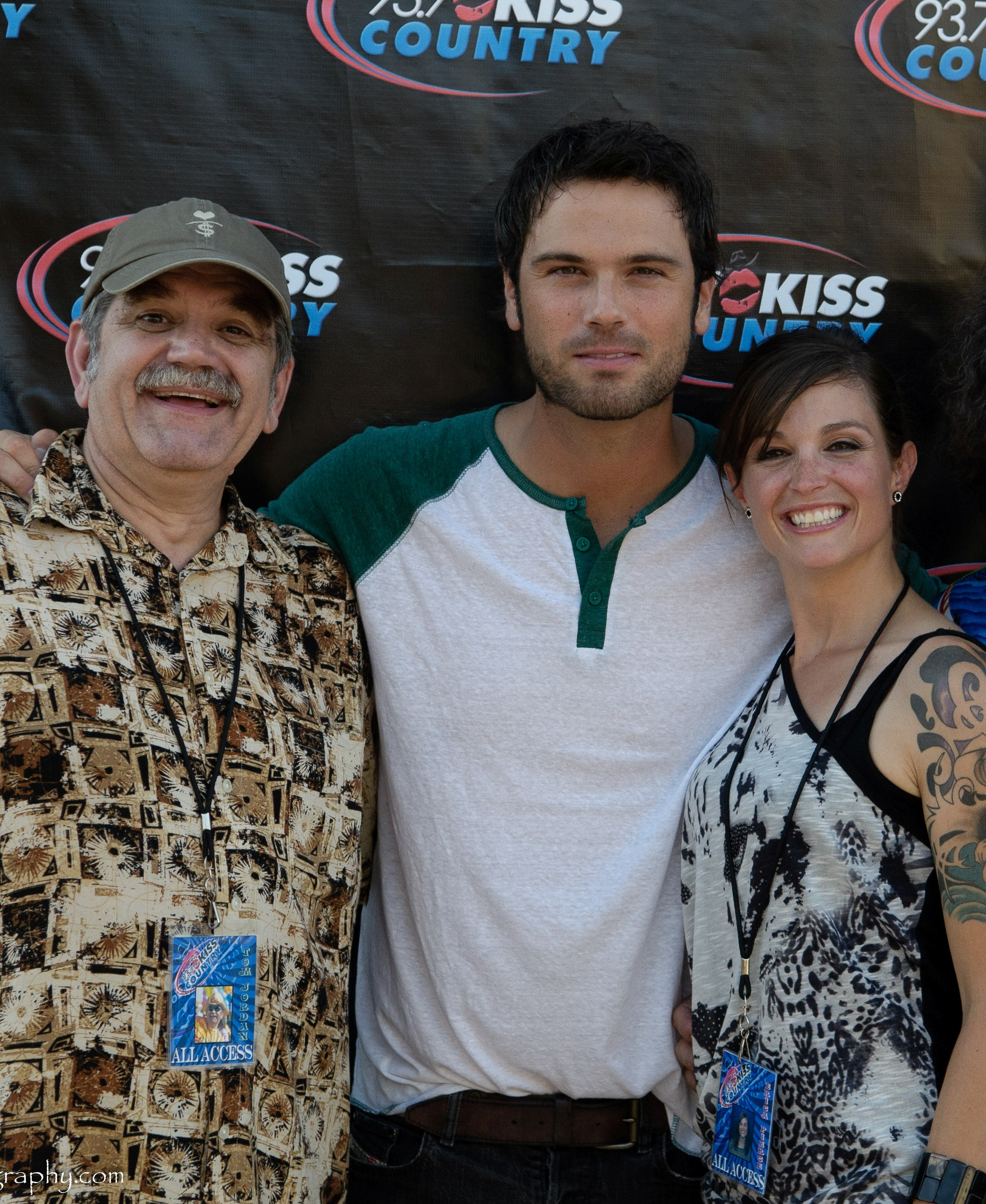 Tom Jordan, Chuck Wicks, Erica Pierce 2010